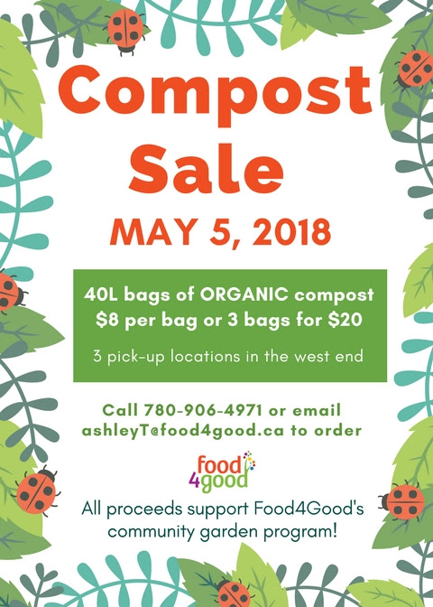 Food4GoodCompost Sale